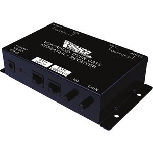 Vanco VGA+Audio over Cat5/Cat6 Receiver