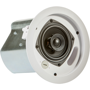 JBL Professional Control 14C/T 2-way Ceiling Mountable, Blind Mount Speaker - 120 W RMS - White