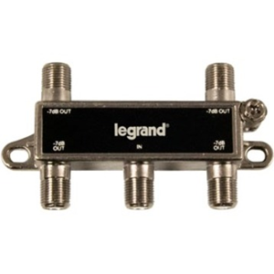 Legrand-On-Q 4-Way Digital Cable Splitter w/ Coax Network Support