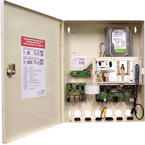 Speco NS Plug & Play Wall Mount Network Video Recorder