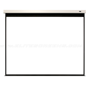 "Elite Screens Evanesce Plus IHOME180HW2-E12 180"" Electric Projection Screen"