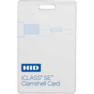 HID 3350 iCLASS SE Clamshell Card