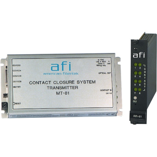 Afi 8 Channel Contact Closure System Non-Latching Relays