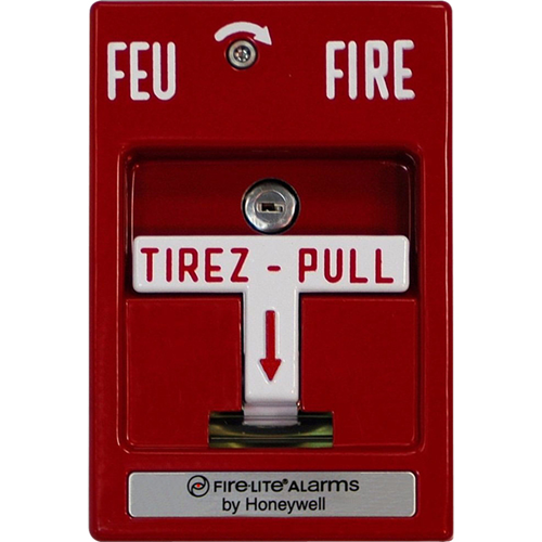Fire-Lite Conventional FI-MPS-SC Pull Station