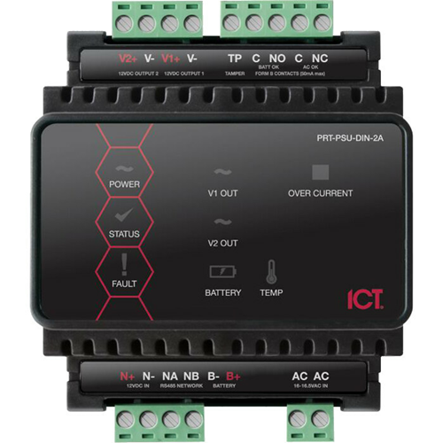 Inaxsys ICT DIN Rail 2A Intelligent Power Supply