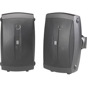 Yamaha NS-AW150 2-way Indoor/Outdoor Wall Mountable Speaker - 35 W RMS - Black