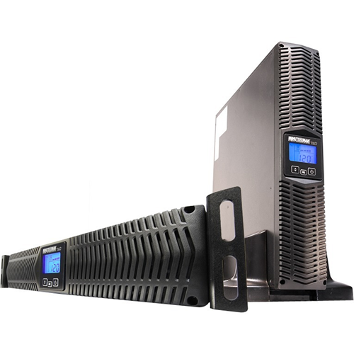 Minuteman 3000 VA Line Interactive Rack/Wall/Tower UPS with 7 Outlets