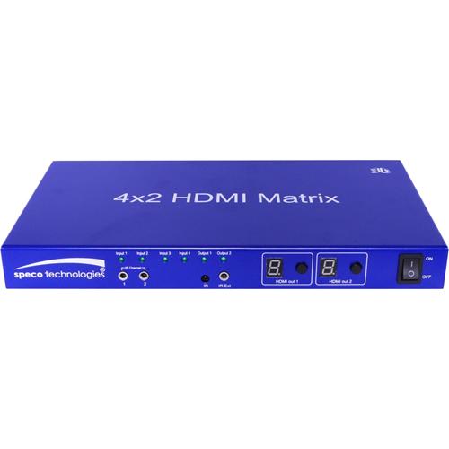 Speco 4 to 2 HDMI Matrix