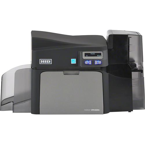 Fargo DTC4250e Double Sided Dye Sublimation/Thermal Transfer Printer - Color - Desktop - Card Print