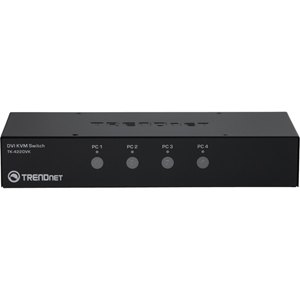 TRENDnet 4-port DVI KVM Switch Kit