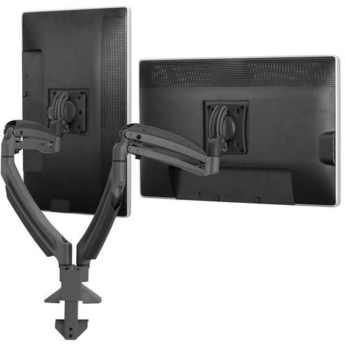 Chief KONTOUR K1D220B Desk Mount for Flat Panel Display - Black