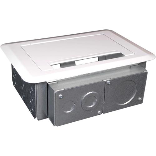 Wiremold Evolution Series 4-Gang Wall Box