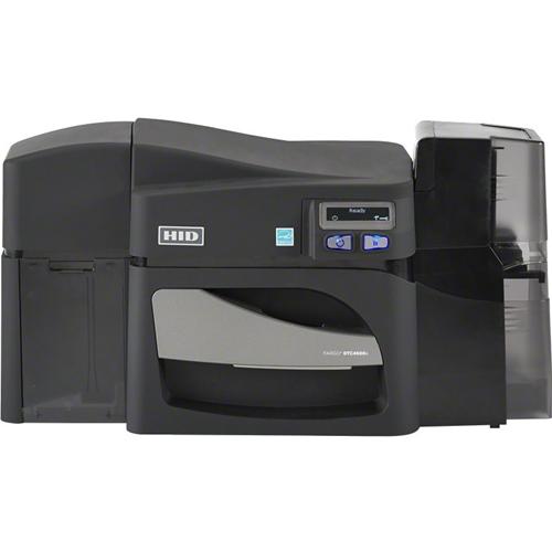 Fargo DTC4500E Single Sided Dye Sublimation/Thermal Transfer Printer - Monochrome - Desktop - Card Print