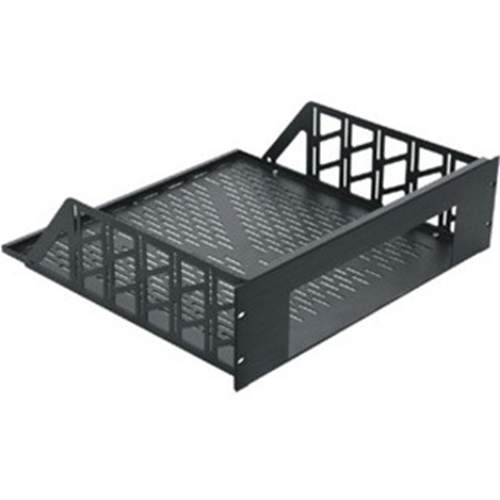 "Middle Atlantic Custom Shelf, 9 RU, 17.5""D, Anodized"