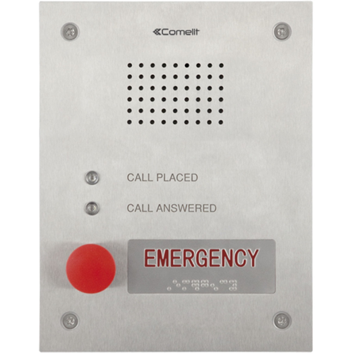 Comelit Audio Entrance Panel for Emergency Calls. VIP System