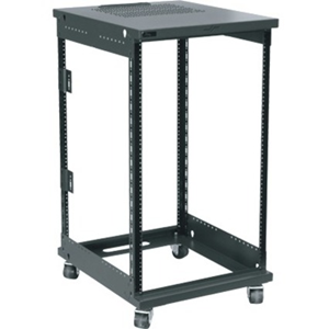 "Middle Atlantic QAR Series Rack, 12 RU, 20""D"
