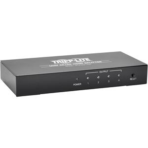 Tripp Lite 4-Port 4K HDMI Splitter for Ultra-HD (4Kx2K) Video and Audio - 3840x2160
