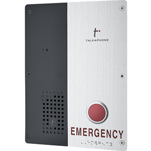 Talkaphone Single Button Emergency IP Call Station
