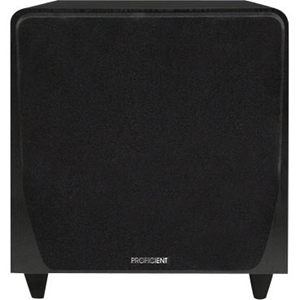 Proficient Audio Protege FS10 Subwoofer System - 250 W RMS - Black