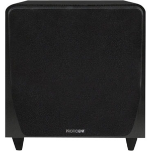 Proficient Audio Protege FS8 Subwoofer System - 200 W RMS - Black