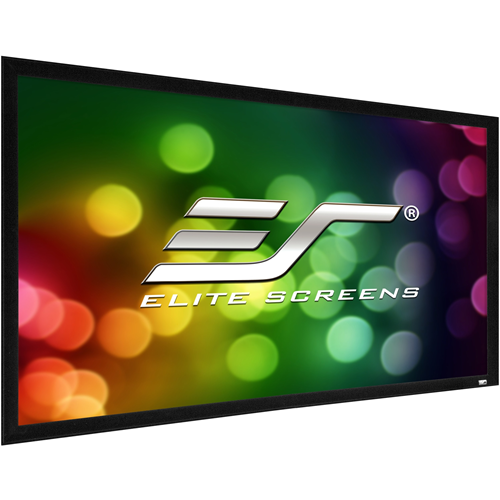 "Elite Screens ezFrame 2 R120H2 120"" Fixed Frame Projection Screen"