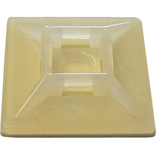 "W Box 1.1"" X 1.1"" Adhesive Mount 500 Pack Natural"