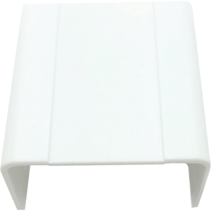"W Box 1-1/4"" X 3/4"" Joint Cover White 4 Pack"