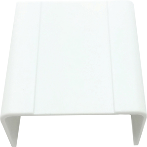 """W Box 1-3/4"""" X 1"""" Joint Cover White 4 Pack"""