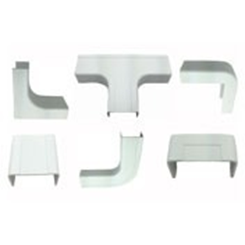 """W Box 1-3/4"""" X 1"""" Combo Pack White (2 of all connectors except drop ceiling)"""
