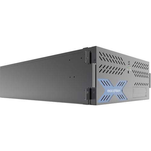 HYBRID 12TB 4U RECORDER W/ 8IP CAM LICS 64MAX & 16ANALOG AT 30FPS