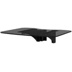 Peerless-AV SmartMount ACC-GS1E Mounting Shelf for TV Cart - Black Powder Coat