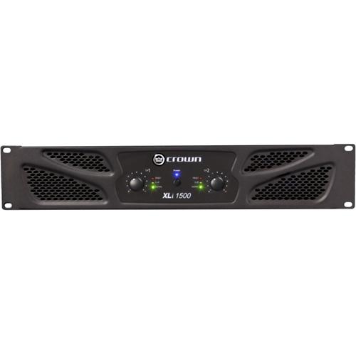 Crown 3500 Amplifier - 2000 W RMS - 2 Channel - Dark Gray