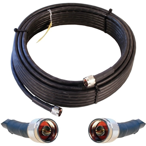 Wilson 60ft WILSON400 Ultra Low Loss Coax Cable (Equivalent to LMR400- N Male - N Male)