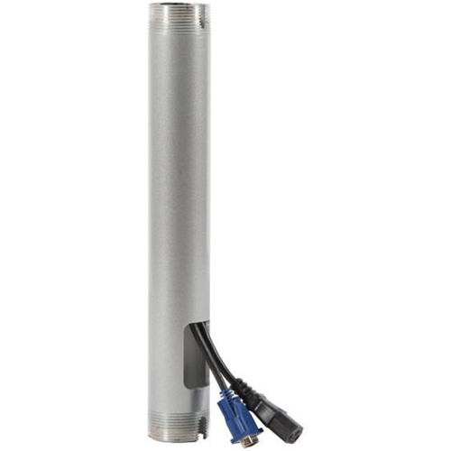Peerless-AV EXT006-W Mounting Extension for Projector, Ceiling Plate, Flat Panel Display