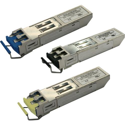 SFP MODULE, HARDENED (-40 C - 75 C) 100FX WDM TYPE