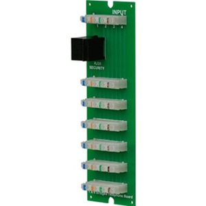 Legrand-On-Q 1x6 Telephone Board with RJ31x (for MDU enclosure)