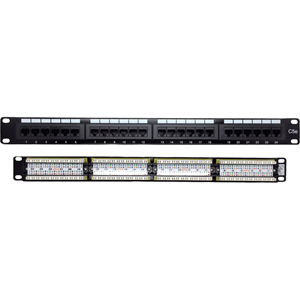 W Box Cat 5e Patch Panel 24 Port