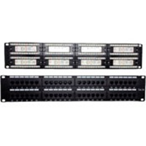 W Box Cat 5e Patch Panel 48 Port