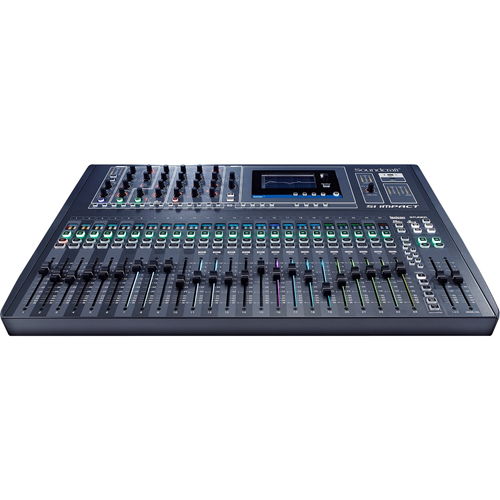 Sound-Craft 40-input Digital Mixing Console and 32-in/32-out USB Interface and iPad Control