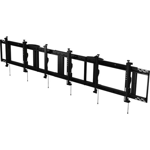 Peerless-AV SmartMount DS-MBZ942L-3X1 Ceiling Mount for Menu Board - Black