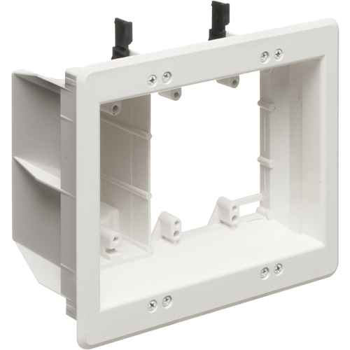 Arlington Three-Gang Recessed TV Box for Power and Low Voltage