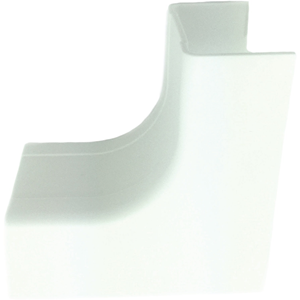 "W Box 3/4"" X 1/2"" Inside Corner White 4 Pack"