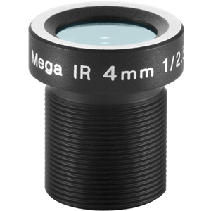 Arecont Vision - 4 mm - f/1.6 - Fixed Focal Length Lens for M12-mount