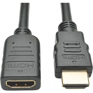 Tripp Lite 6ft High Speed HDMI Extension Cable with Ethernet Digital Video / Audio 4K x 2K M/F 6'
