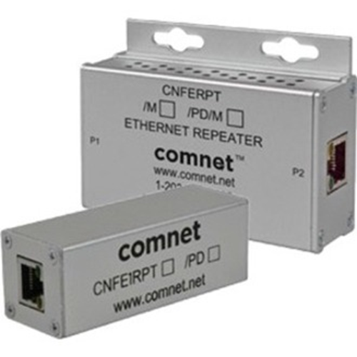 1CH 10/100 MB ETHERNET REPEATER 60W POE PASS-THRU