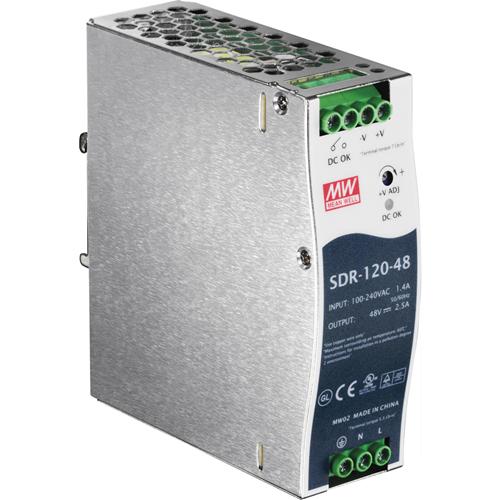 TRENDnet DIN Rail 48V 120W Power Supply for TI-PG541