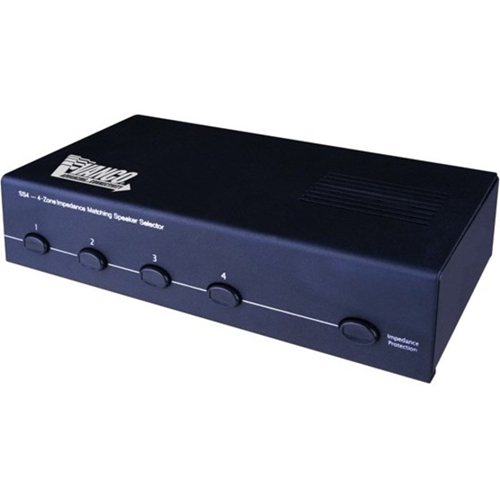 Vanco 4 Pair Stereo Speaker Selector Box
