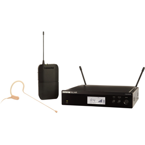 Shure BLX14R/MX53 Wireless Rack-mount Presenter System with MX153 Earset Microphone