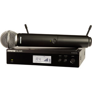 Shure BLX24R/SM58 Wireless Rack-mount Vocal System with SM58
