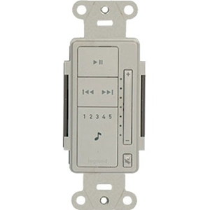 Legrand-Nuvo Radiant Keypad for Player Systems, White